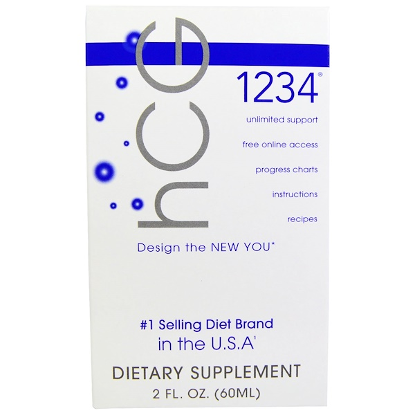 hCG 1234, 2 fl oz (60 ml)