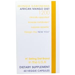 Криэйтив Байосаэнс, African Mango Diet 1200, 60 Veggie Caps отзывы
