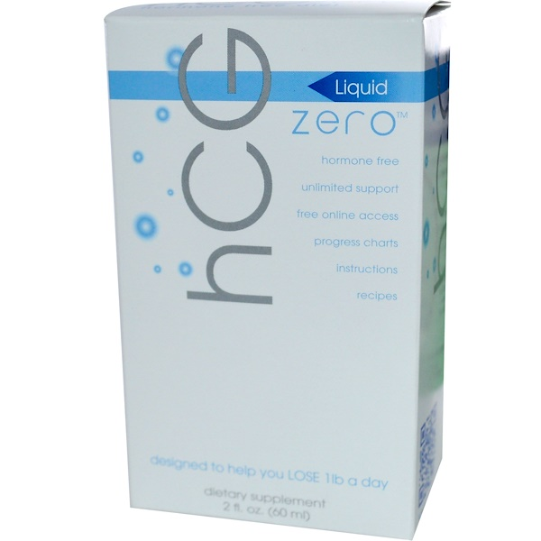 Creative Bioscience, hCG Zero Liquid, Hormone Free Diet,  2 fl oz (60 ml) (Discontinued Item)