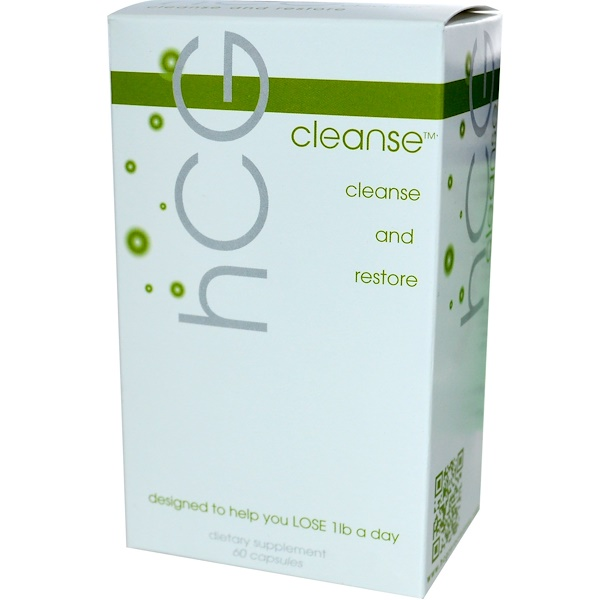 Creative Bioscience, hCG Cleanse, 60 Capsules (Discontinued Item)