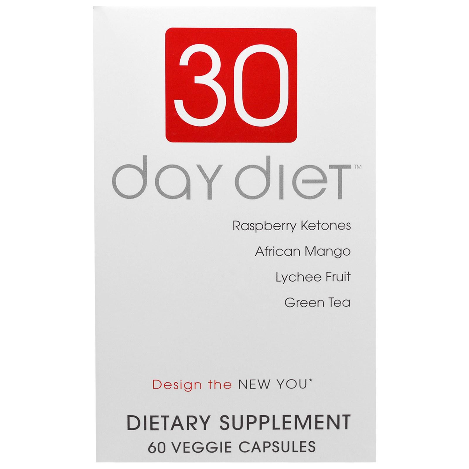 Creative Bioscience, 30 Day Diet, 60 Veggie Caps - iHerb com