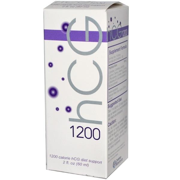 Creative Bioscience, hCG 1200, 2 fl oz (60 ml) (Discontinued Item)