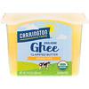 Carrington Farms, Organic Ghee, Clarified Butter , Grass-Fed, 12 fl oz (355 ml)