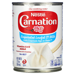 Carnation Milk, Evaporated Lowfat 2% Milk, 12 fl oz (354 ml)