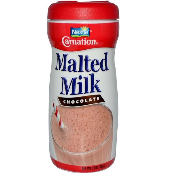 Carnation Milk, Malted Milk, Chocolate, 13 oz (368 g) (Discontinued Item)