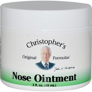 Кристоферс Оригинал Формулас, Nose Ointment, 2 fl oz (59 ml) отзывы