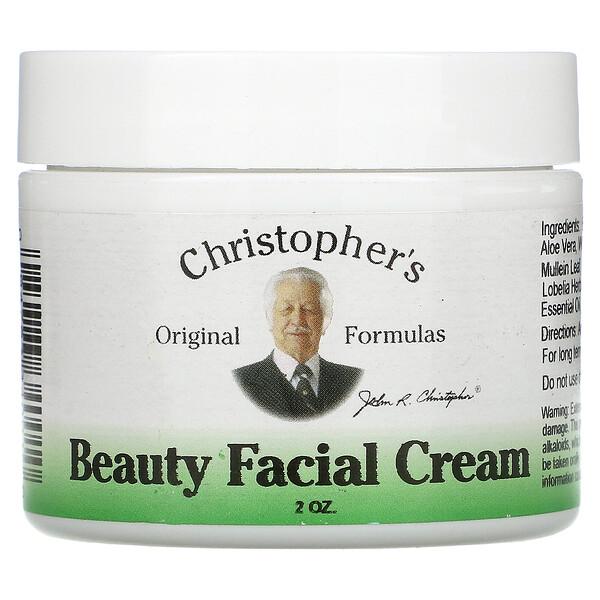 Christopher's Original Formulas, Beauty Facial Cream, 2 oz