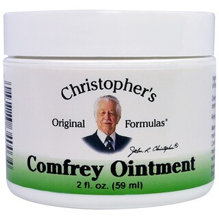 Christopher's Original Formulas, Comfrey Ointment, 2 fl oz (59 ml)