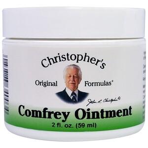 Кристоферс Оригинал Формулас, Comfrey Ointment, 2 fl oz (59 ml) отзывы покупателей