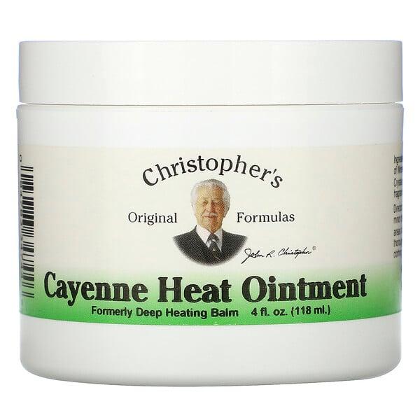 Cayenne Heat Ointment, 4 fl oz (118 ml)