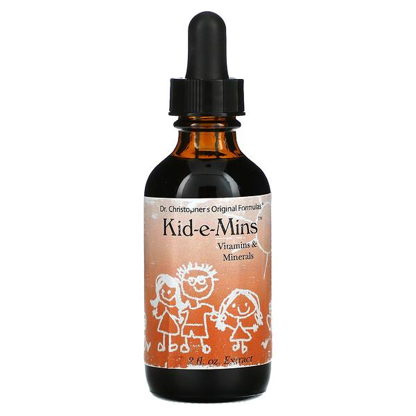 Kid-e-Mins, Vitamins & Minerals, 2 fl oz