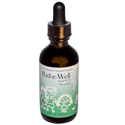Купить Kid-e-Well, экстракт от простуды, 2 жидкие унции