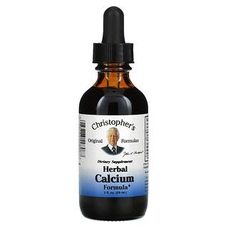 Christopher's Original Formulas, Herbal Calcium Formula,  2 fl oz  (59 ml)