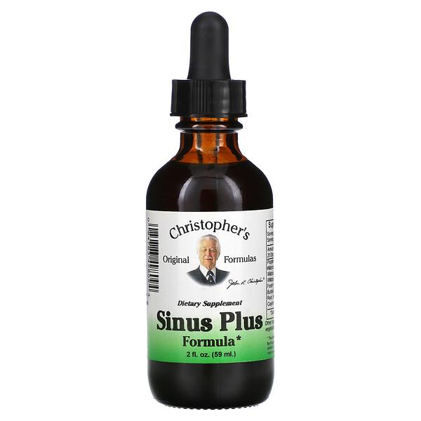 تركيبة Sinus Plus، 2 أونصة سائلة (59 مل)