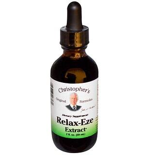 Christopher's Original Formulas, Relax-Eze Extract, 2 fl oz (59 ml)