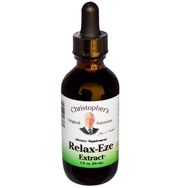 Christopher's Original Formulas, Relax-Eze Extract, 2 fl oz (59 ml)