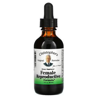Christopher's Original Formulas, Female Reproductive Formula, 2 fl oz (59 ml)