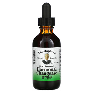 Christopher's Original Formulas, Formula para cambios hormonales, 2 fl oz (59 ml)
