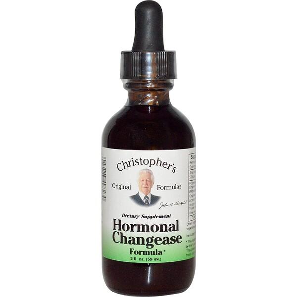 호르몬 변화 포뮬러, 2 fl oz (59 ml)