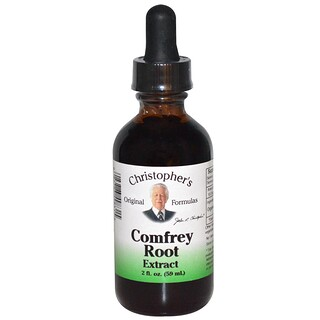 Christopher's Original Formulas, Comfrey Root Extract, 2 fl oz (59 ml)