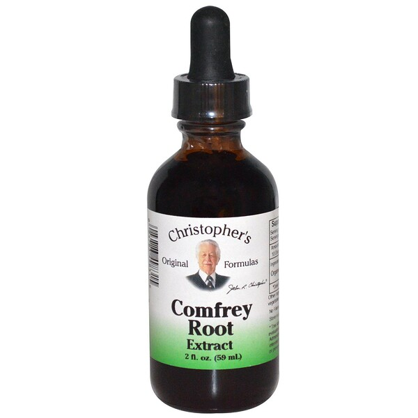 Comfrey Root Extract, 2 fl oz (59 ml)