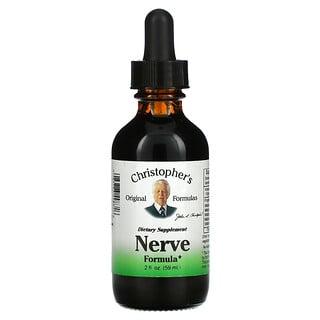 Christopher's Original Formulas, Nerve Formula, 2 fl oz (59 ml)