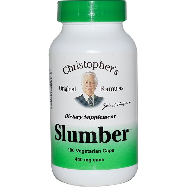 Christopher's Original Formulas, Slumber, 440 mg, 100 Vegetarian Caps