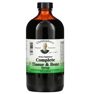 Christopher's Original Formulas, Complete Tissue & Bone Syrup, 16 fl oz (423 ml)