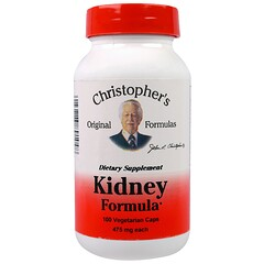 Christopher's Original Formulas, Kidney Formula, 475 mg, 100 Veggie Caps