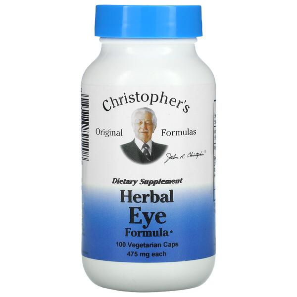 Herbal Eye Formula, 475 mg, 100 Vegetarian Caps