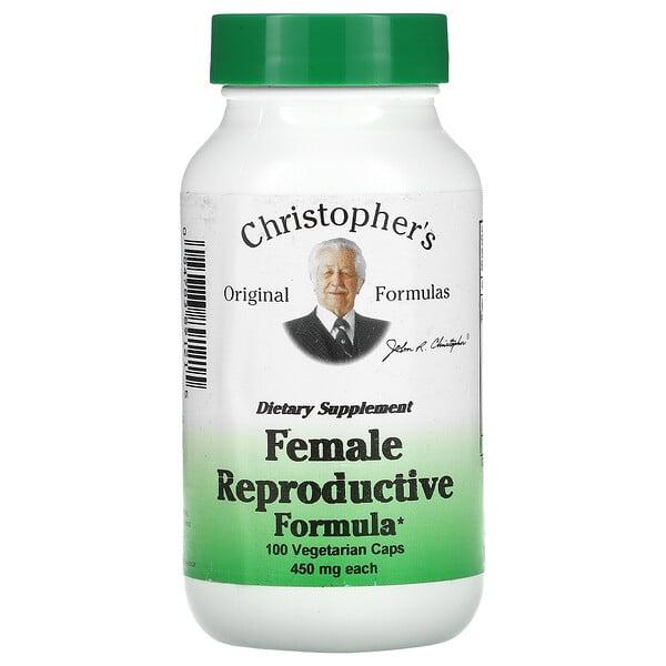 Female Reproductive Formula, 450 mg, 100 Vegetarian Caps