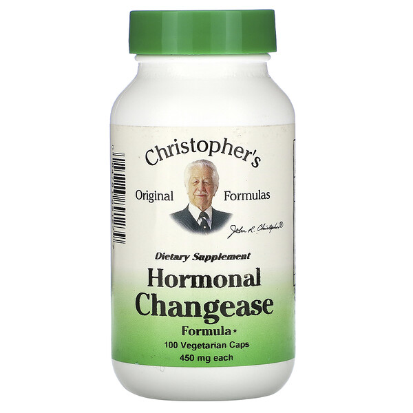 Hormonal Changease Formula, 460 mg, 100 Vegetarian Caps