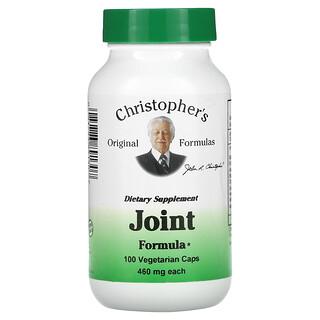 Christopher's Original Formulas, Joint Formula, 460 mg, 100 Vegetarian Caps