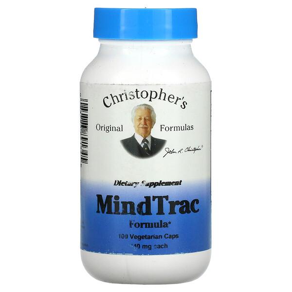 MindTrac Formula, 440 mg, 100 Vegetarian Caps