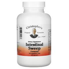 Christopher's Original Formulas, 腸道清潔配方,625 毫克,180 粒素食膠囊