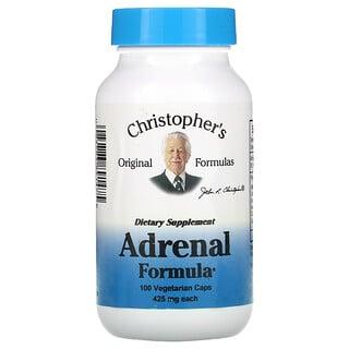 Christopher's Original Formulas, Adrenal Formula, 425 mg, 100 Vegetarian Caps