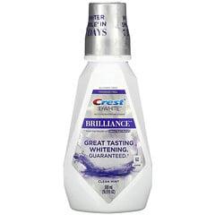 Crest, 3D White Brilliance 亮齒漱口水,清新薄荷味,不含乙醇,16.9 液量盎司(500 毫升)