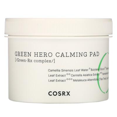 Купить Cosrx Одностадийная успокаивающая капсула Green Hero, 70 капсул, 4, 56 жидкой унции