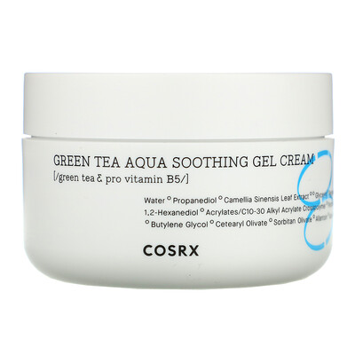 Купить Cosrx Hydrium, Green Tea Aqua Soothing Gel Cream, 1.69 fl oz (50 ml)