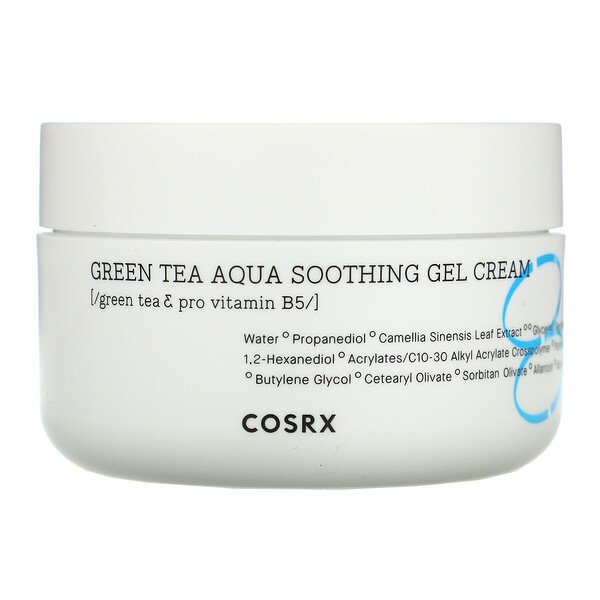 Hydrium, Green Tea Aqua Soothing Gel Cream, 1.69 fl oz (50 ml)