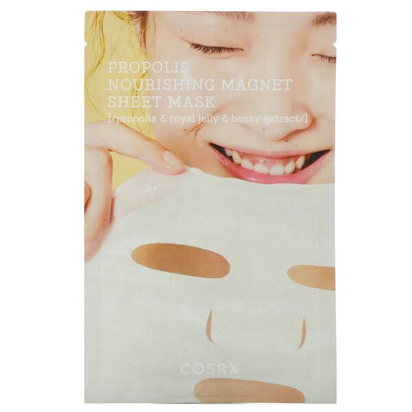 Full Fit, Propolis Nourishing Magnet, питательная тканевая маска для лица с прополисом, 1шт., 21мл (0,71 жидк. унции)