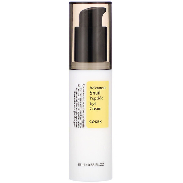 Advanced Snail, Peptide Eye Cream, 0.85 fl oz (25 ml)