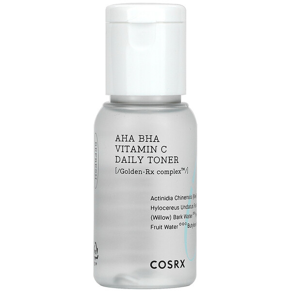 Cosrx, AHA BHA Vitamin C Daily Toner, 1.69 fl oz (50 ml)