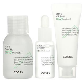 Cosrx, Cica-7 Relief Kit, For Sensitive Skin, 3 Piece Kit