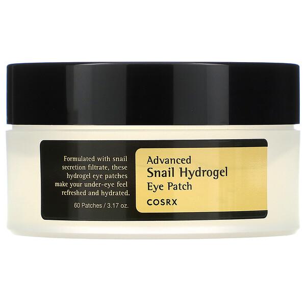 Advanced Snail Hydrogel Eye Patch, 60 Patches, 3.17 oz