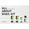 Cosrx, All About Snail Kit, 4 Piece Kit