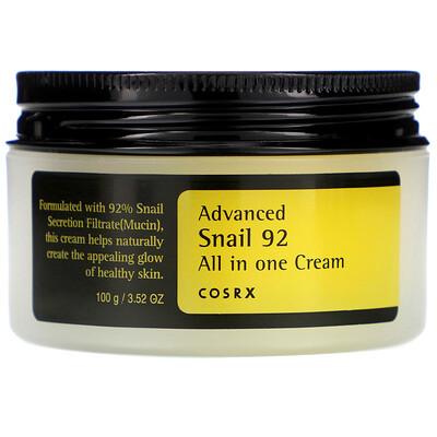 улучшенная формула Snail 92, высокоэффективный крем все в одном на основе секреции улиток, 100 мл