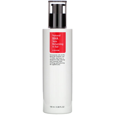 Natural BHA Skin Returning A-Sol, 3.38 fl oz (100 ml)
