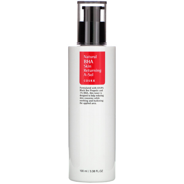 Cosrx, Natural BHA Skin Returning A-Sol, 100 ml