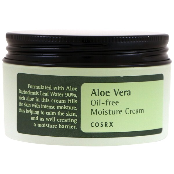 Cosrx, Aloe Vera Oil-Free Moisture Cream, 3.52 oz (100 g) (Discontinued Item)